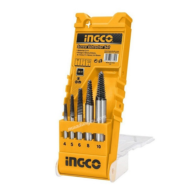 Bộ 5 mũi ven răng Ingco ASE008