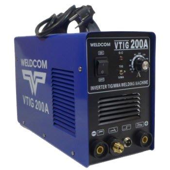 Máy hàn que TIG dùng điện Weldcom VTIG 200A