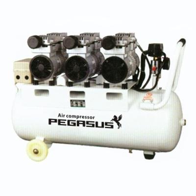 Máy nén khí không dầu giảm âm PEGASUS TM-OF750x3-100L