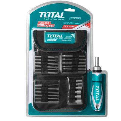 Bộ mũi vít 26 chi tiết Total TACSD30266