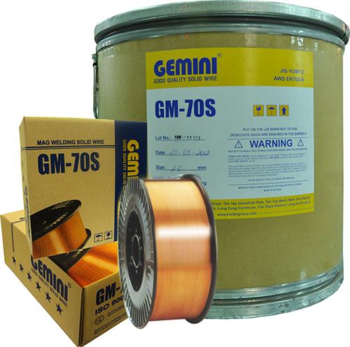 Cuộn dây hàn mig 1.0mm GM-70S (sắt)