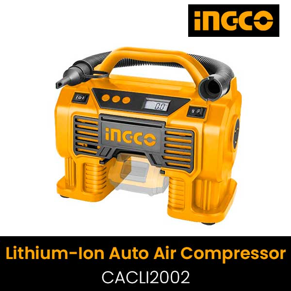 Dụng cụ kiểm tra lốp xe Ô tô dùng pin Lithium Ingco CACLI2002 20V (Chưa Pin & Sạc)