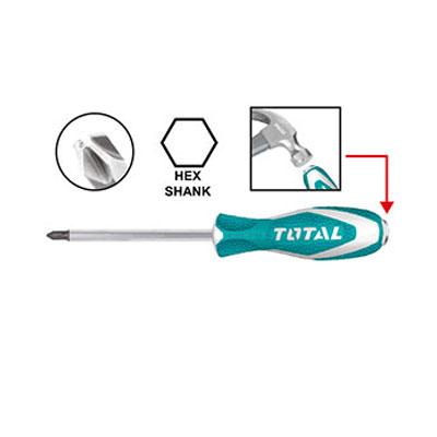 Tuốc nơ vít (tô vít) đóng bake Total THTGTSPH2150 6x150mm