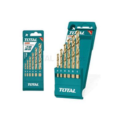 Bộ mũi khoan kim loại HSS 12 chi tiết Total TACSD0125