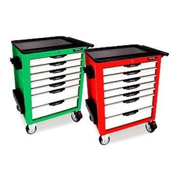 Bộ tủ 7 ngăn xanh bao gồm 279 chi tiết Toptul GV-27901