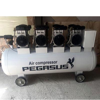 Máy nén không dầu giảm âm Pegasus TM-OF1100X4-300L