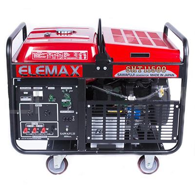 Máy phát điện Xăng 3 pha ELEMAX SHT11500