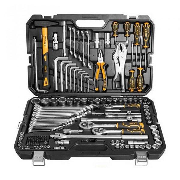 Bộ 142 món công cụ kết hợp Ingco HKTHP21421