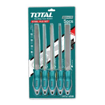 Bộ giũa sắt 5 chi tiết Total THT918516