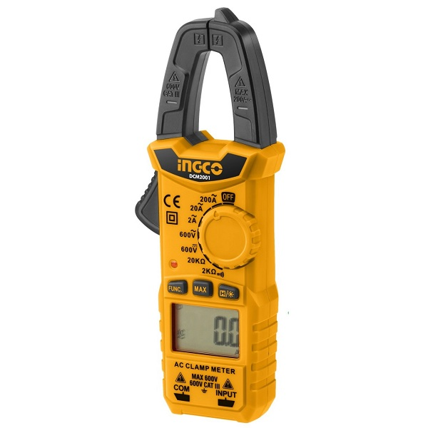 Kềm đo AC kỹ thuật số Ingco DCM2001