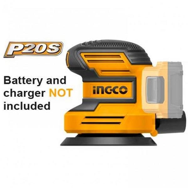 Máy chà nhám tròn dùng pin Lithium Ingco CROSLI2001 (20V) (Chưa Pin & Sạc)