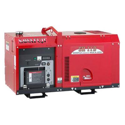 Máy phát điện diesel 1 pha Elemax SH11D (KUBOTA)