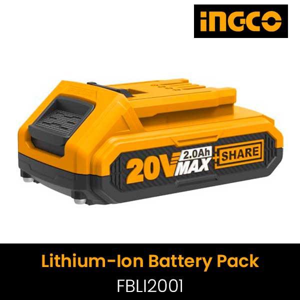 Pin Litium Ingco FBLI2001 20V/2Ah
