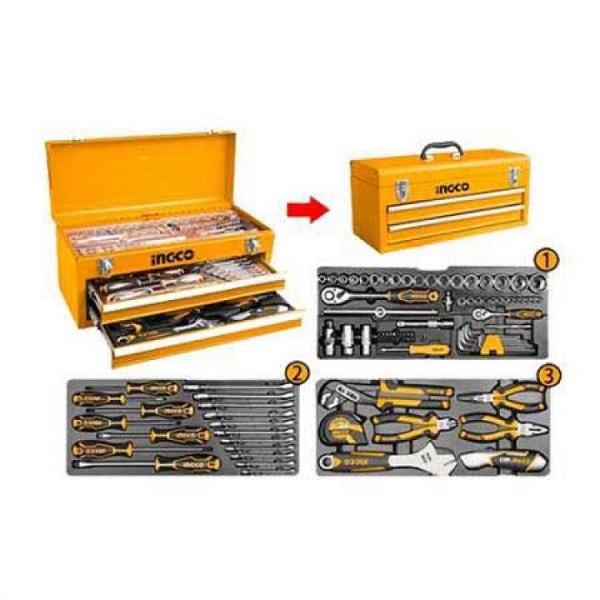 Bộ hộp đồ nghề 97 món dụng cụ Ingco HTCS220971