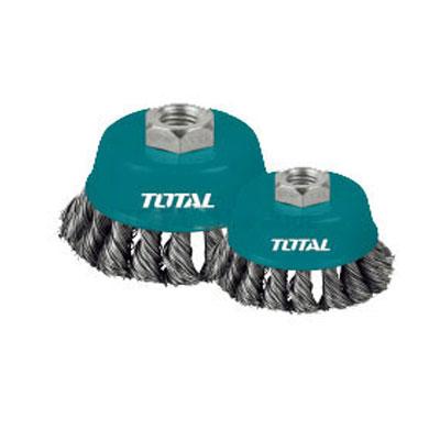 Chén cước (chổi cước) xoắn Total TAC32041 100mm