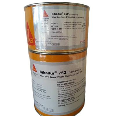 Nhựa bơm Epoxy 2 thành phần có độ nhớt thấp Sikadur 752