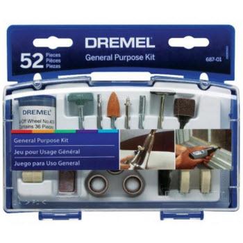 Bộ phụ kiện đa năng 52 món Dremel 687-01
