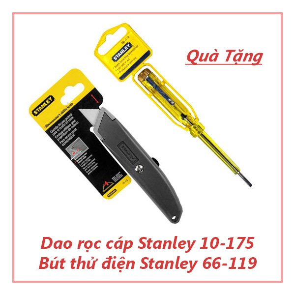 Dao Rọc Giấy & Bút Thử Điện Stanley