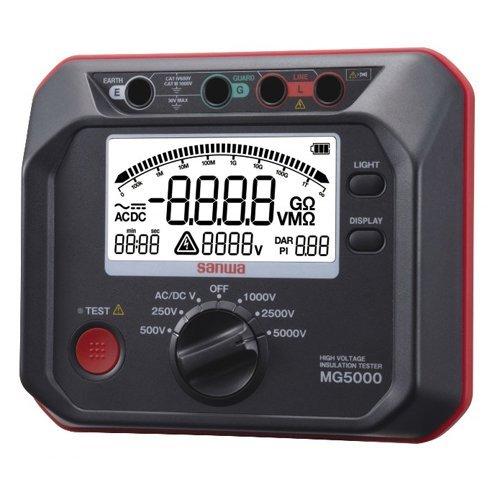 Đồng hồ đo điện trở đất Sanwa MG5000