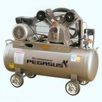 Máy nén khí dây đai pegasus TM-V-0.17-8-180L