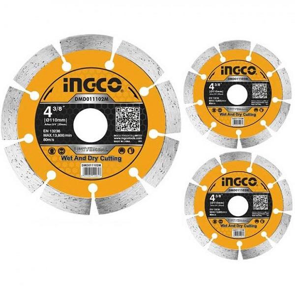 Đĩa cắt gạch khô Ingco DMD011102M