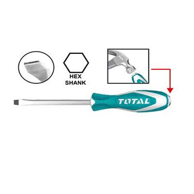Tuốc nơ vít (tô vít) đóng dẹp Total THTGTS6100 6.5x100mm