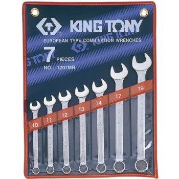 10-19mm bộ vòng miệng 7 cái hệ mét Kingtony 1207MR
