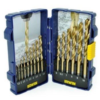 1.5x10mm Bộ mũi khoan 15 chi tiết IRWIN 10503991
