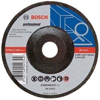 Đá Mài Sắt Bosch 100X6X16mm 2608600017