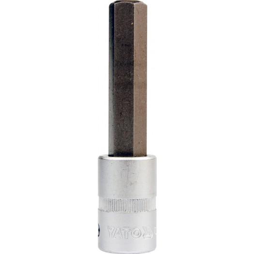 Đầu tuýp ra đầu lục giác dài 1/2' Yato YT-7743 (8mm, 176.3Nm)