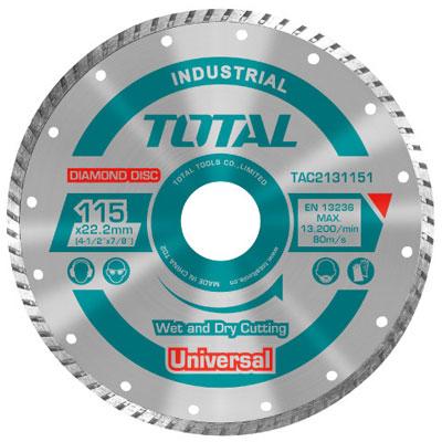 Đĩa cắt gạch khô ướt Total TAC2131003  100x16mm
