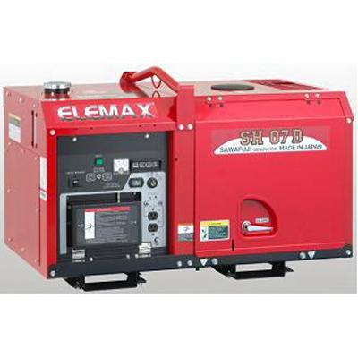 Máy phát điện diesel 1 pha Elemax SH07D (KUBOTA)